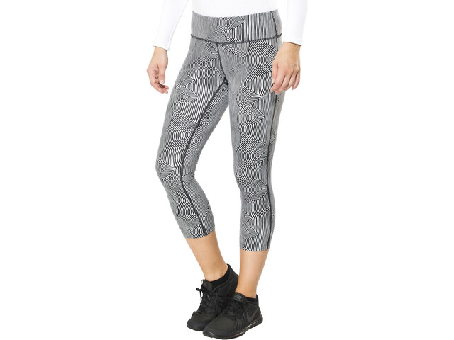 Nike Zen Epic Run Leggings 3/4 Femme, black/reflective silver